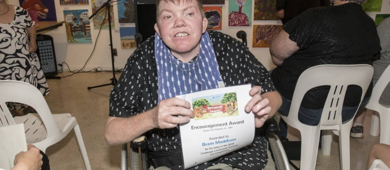 The Challenge Community Art Exhibition photos and winners