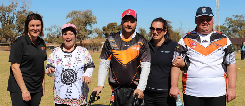 Challenge host Trangie all abilities league tag carnival