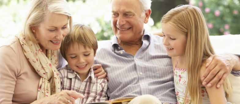 A safe haven: grandparents step into the breach